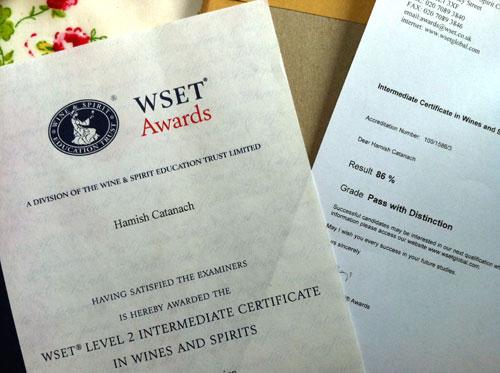 WSET Diploma 应考心得