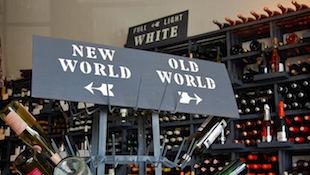 葡萄酒的世界地图