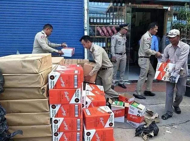 """柬埔寨警方破獲""""數千瓶""""假奔富"""