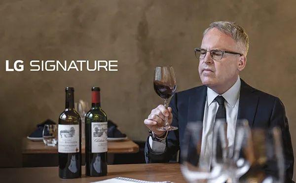 """近日,来自韩国的全球知名电器公司""""LG电子""""宣布,已选择国际酒评家James Suckling作为他们旗下超高端酒柜品牌LG SIGNATURE的推广大使。"""