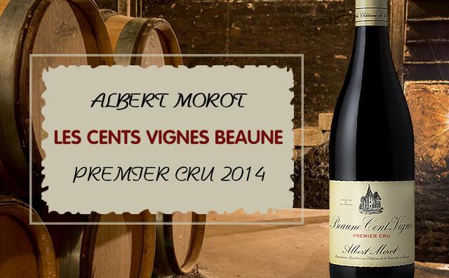 【精品一級園】Albert Morot Les Cents Vignes Beaune Premier Cru