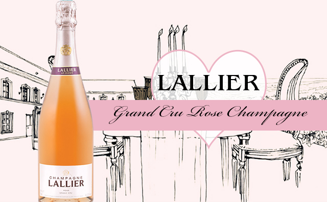 特级园桃红香槟】Lallier Grand Cru Rose Champagne 大降