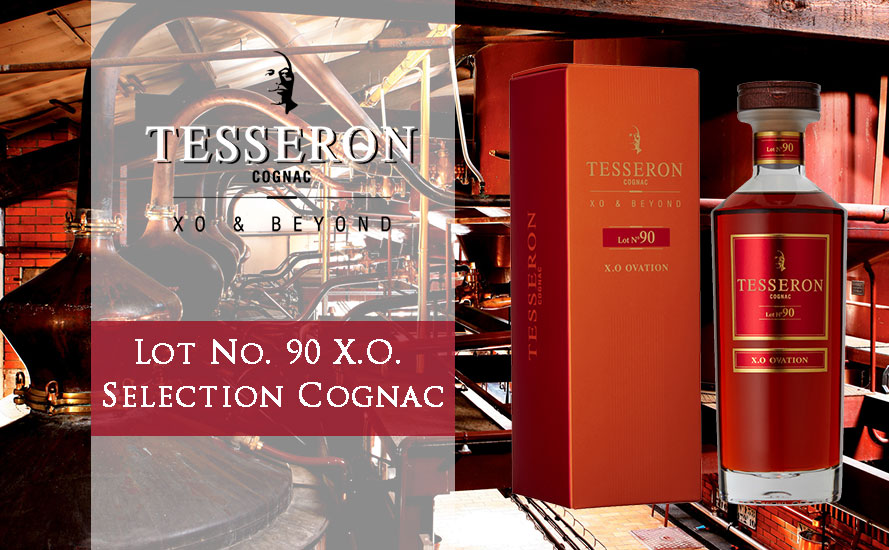 【奢品尾貨】Tesseron Lot No. 90 X.O. Selection Cognac 水晶瓶禮盒裝