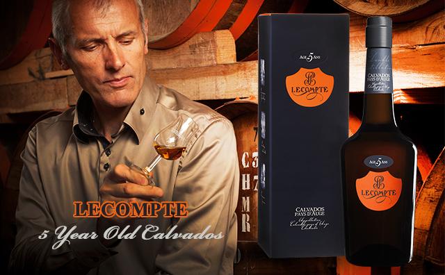 【风靡全法】Lecompte 5 Year Old Calvados