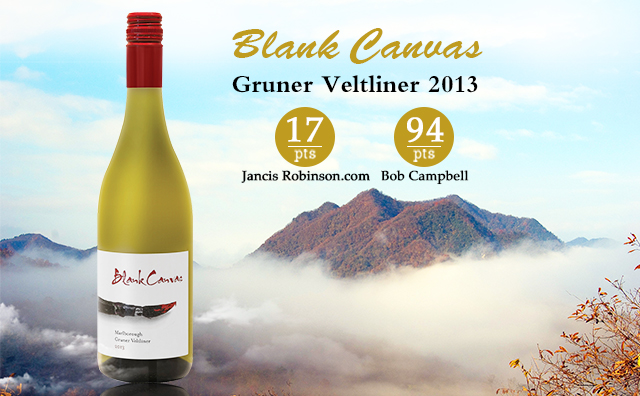 【高分趣尝】Blank Canvas Marlborough Gruner Veltliner 2013