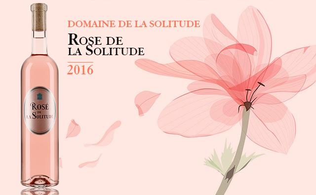 【名家桃红】Domaine de la Solitude Rose de Solitude 2016