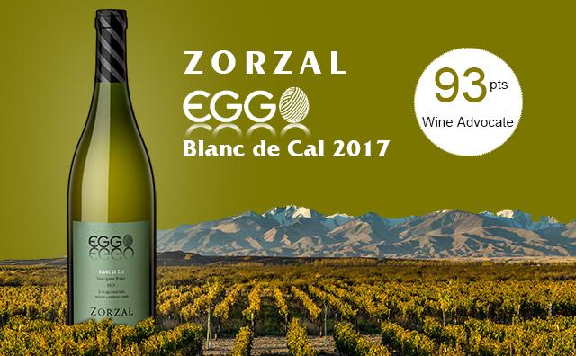 【炸裂性价比】Zorzal Eggo Blanc de Cal 2017