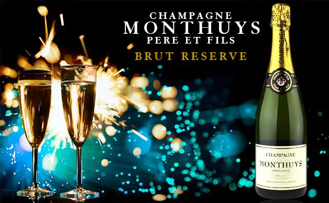 【超爆香槟】Champagne Monthuys Pere et Fils Brut Reserve
