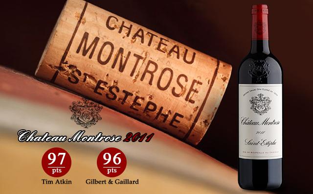 【超二名莊】Chateau Montrose 2011