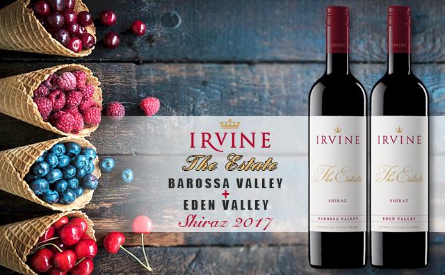 ?#31454;?#21521;套装】Irvine The Estate Shiraz Barossa Valley + Eden Valley 双支套装