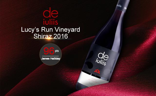 【高分性价比】De Iuliis Lucy's Run Vineyard Shiraz 2016