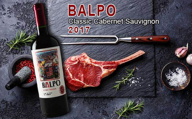 ?#31454;?#29190;口粮】Balpo Classic Cabernet Sauvignon 2017 四支套装