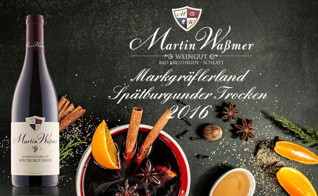 【智选十八闪】Weingut Martin Wassmer Markgraflerland Spatburgunder Trocken 2016