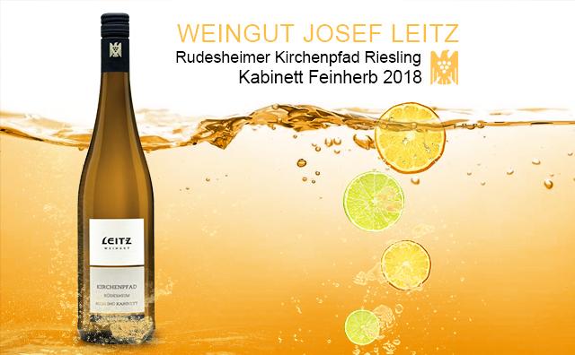 【半糖主義】Weingut Josef Leitz Rudesheimer Kirchenpfad Riesling Kabinett Feinherb 2018 2支套裝
