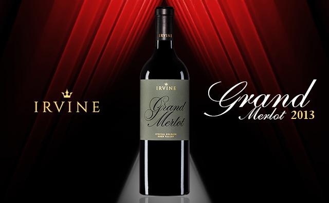 【旗舰梅洛】Irvine Grand Merlot2013 超值赠酒