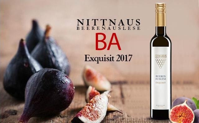 【味蕾新体验】Nittnaus Beerenauslese (BA) Exquisit 2017