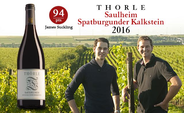【高分老藤】Thorle Saulheim Spatburgunder Kalkstein 2016