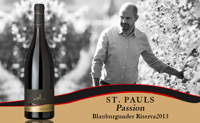 【相当有料】St. Pauls Blauburgunder Riserva Passion 2013