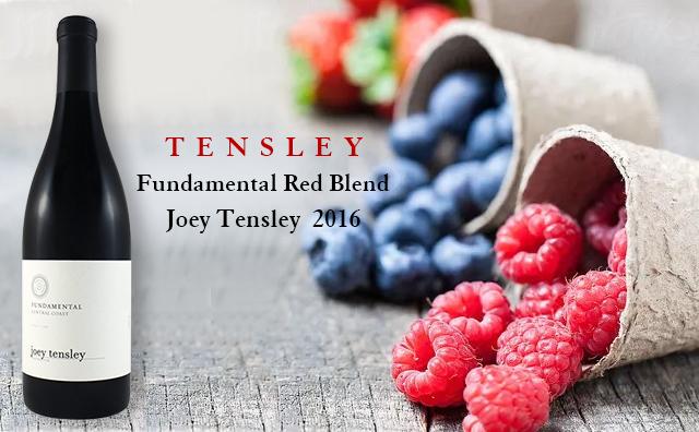 【加州混釀】Tensley Joey Tensley Fundamental Red Blend 2016