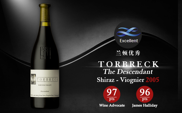 【WA 97分】Torbreck The Descendant Shiraz - Viognier 2005