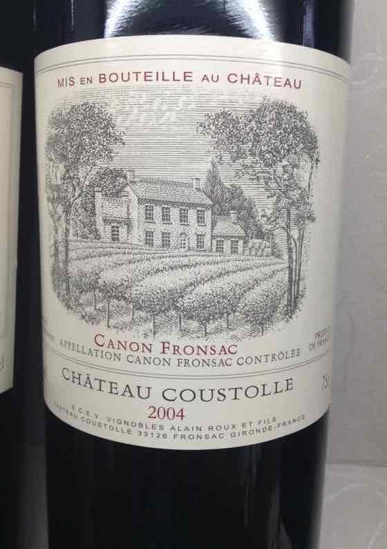 古士铎勒城堡干红Chateau Coustolle Canon-Fronsac