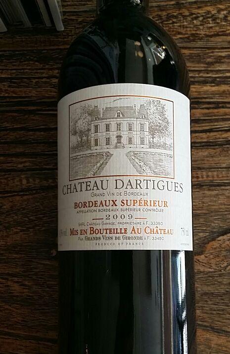 达尔迪格庄园干红Chateau Dartigues