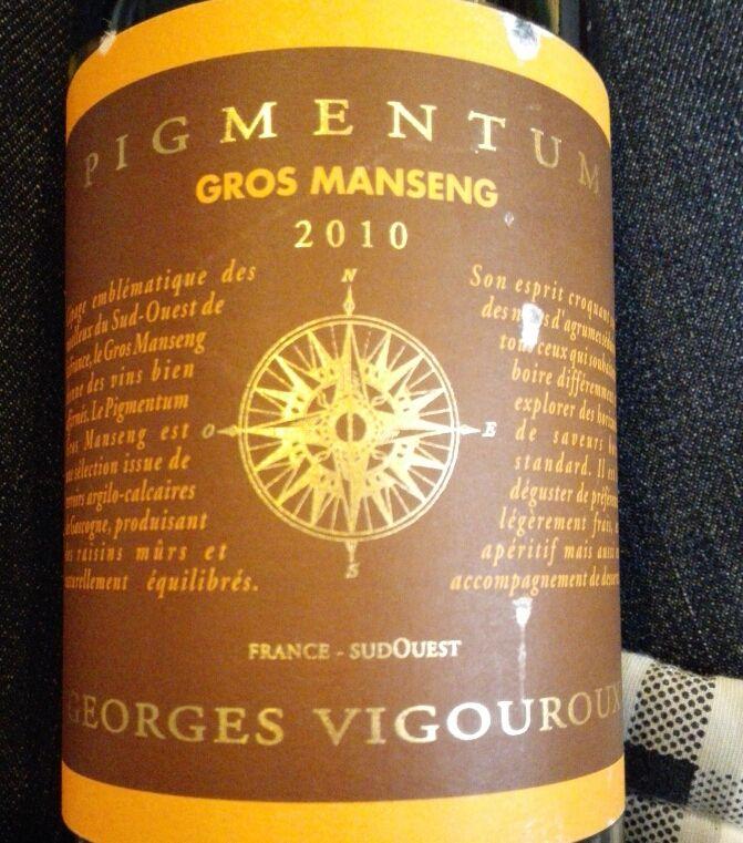 Georges Vigouroux Pigmentum Gros Manseng Moelleux