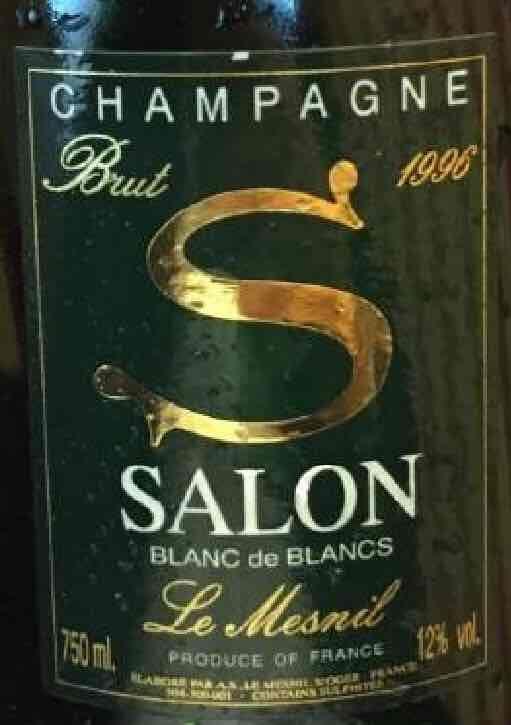 沙龙干型白中白香槟Champagne Salon Brut Blanc de Blancs
