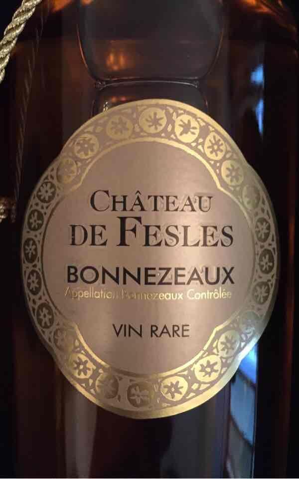 菲乐邦尼舒干白Chateau de Fesles Bonnezeaux Blanc