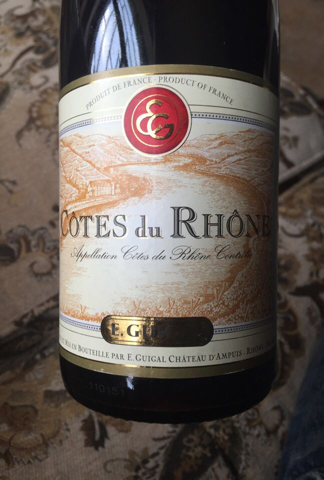 吉佳乐世家干红E. Guigal Cotes du Rhone Rouge
