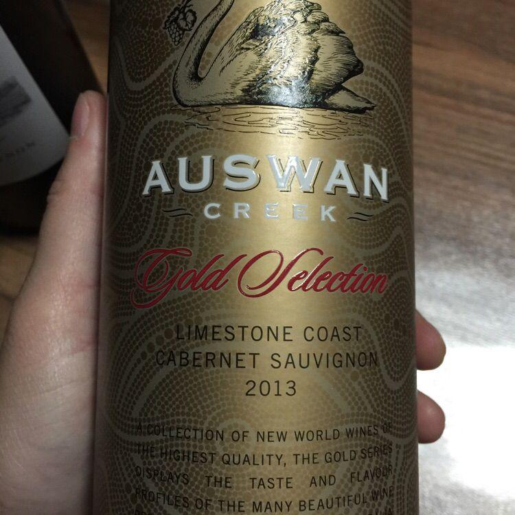 天鹅庄金色精选赤霞珠干红Auswan Creek Gold Selection Cabernet Sauvignon