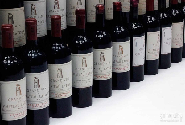 2003年拉图正牌酒价格回暖