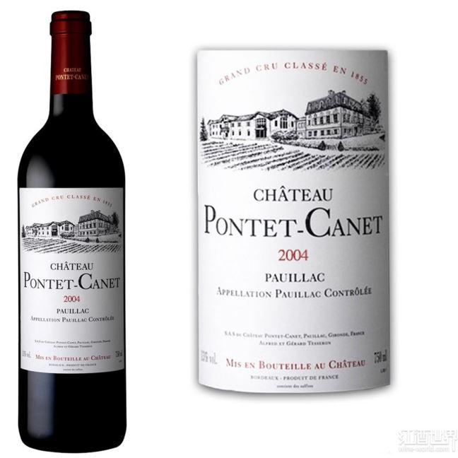 庞特卡奈被列入世界十大最给力葡萄酒品牌