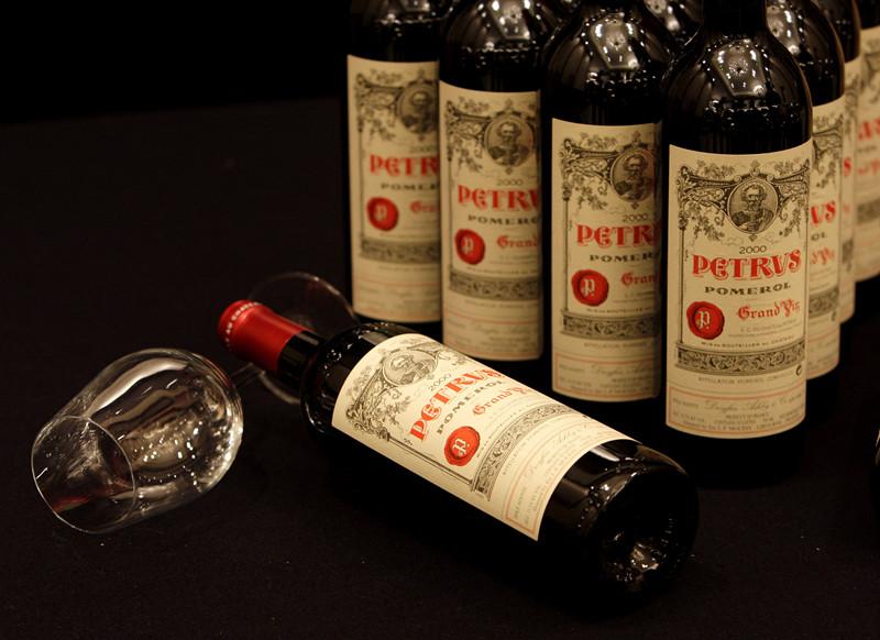 柏图斯、DRC、嘉伯乐等名庄酒再创拍卖新高