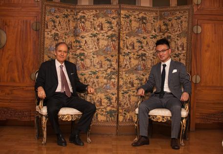 安东尼世家晚宴在意大利大使馆成功举办