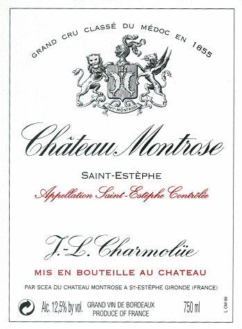 梦玫瑰酒庄干红Chateau Montrose