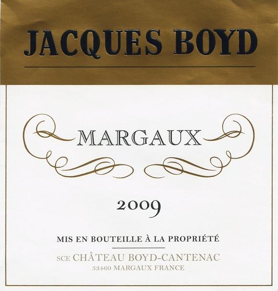 贝卡塔纳酒庄副牌干红Jacques Boyd
