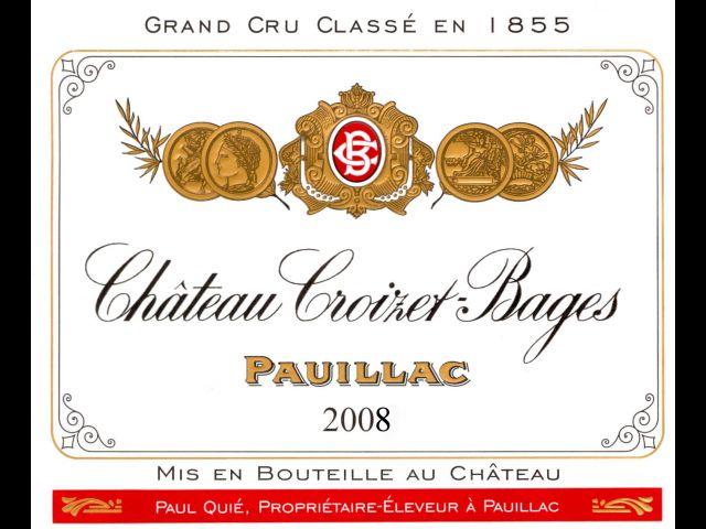 歌碧酒庄干红Chateau Croizet Bages
