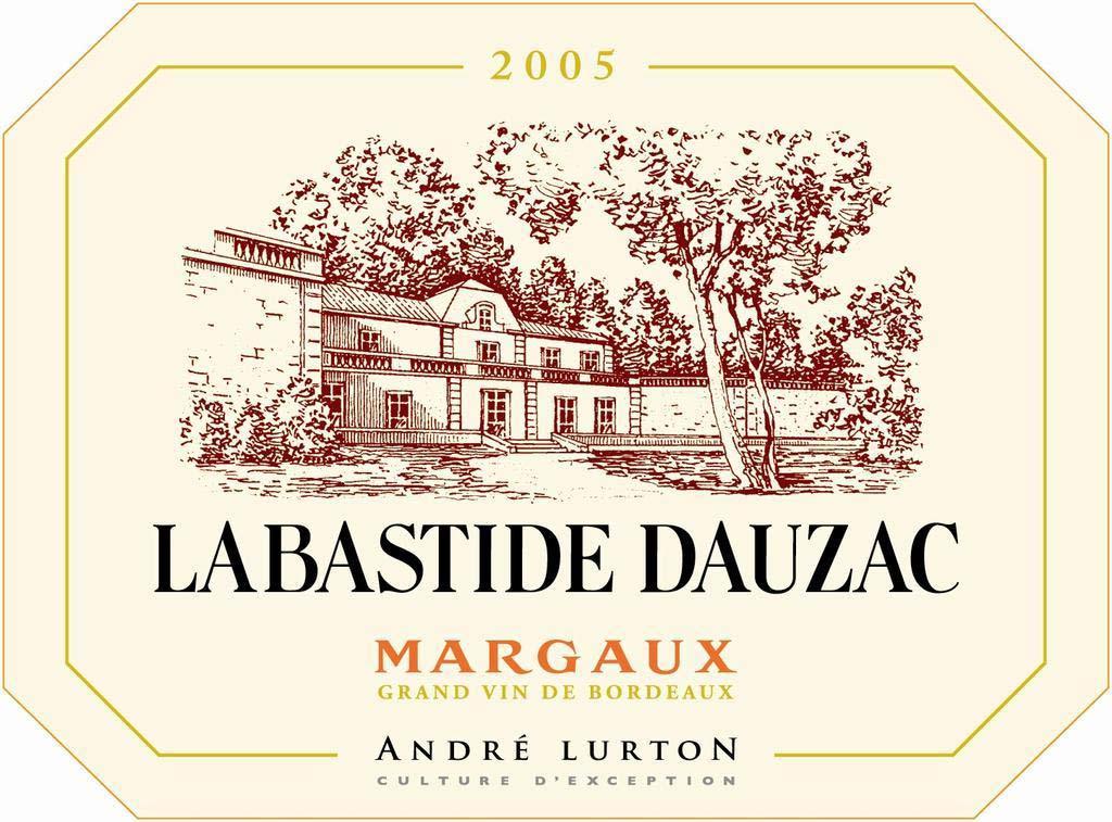 杜扎克酒庄副牌干红La Bastide Dauzac