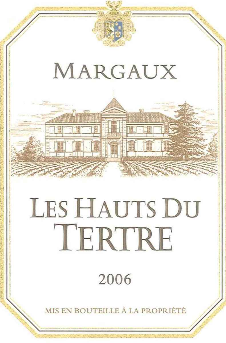 杜特酒庄副牌干红Les Hauts du Tertre