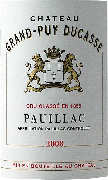 杜卡斯酒庄干红Chateau Grand-Puy-Ducasse