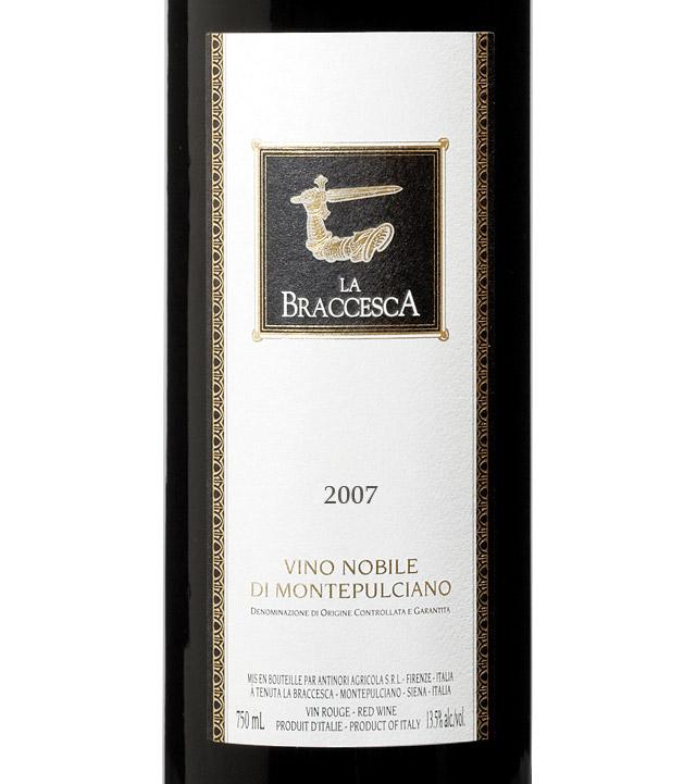 安东尼世家布拉吉斯卡蒙帕塞诺干红Marchesi Antinori La Braccesca Vino Nobile di Montepulciano