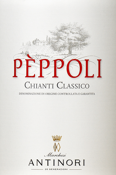 安东尼碧波干红Marchesi Antinori Peppoli