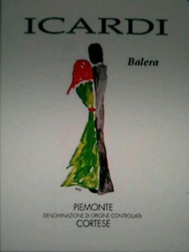 伊卡迪巴乐拉柯蒂斯干白Icardi Balera Cortese Piemonte