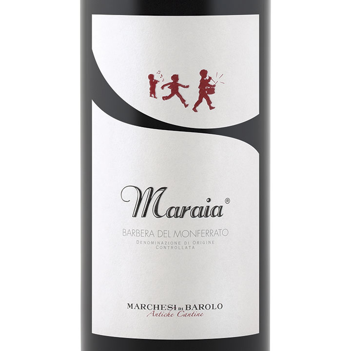 巴罗洛侯爵德尔托玛莱亚巴贝拉干红Marchesi di Barolo Maraia Barbera del Monferrato