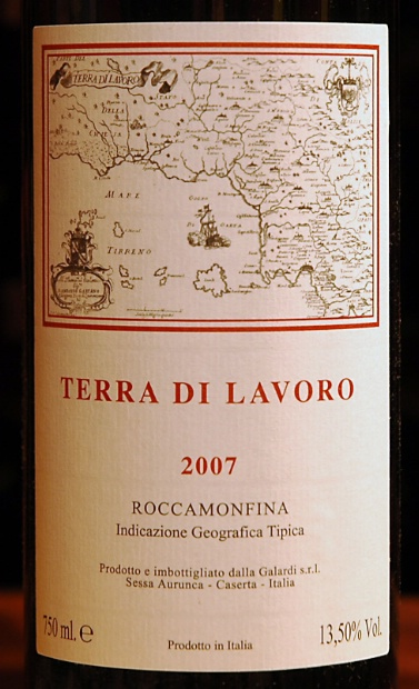 加拉迪梦菲娜石干红Galardi Terra Di Lavoro Rocca Monfina