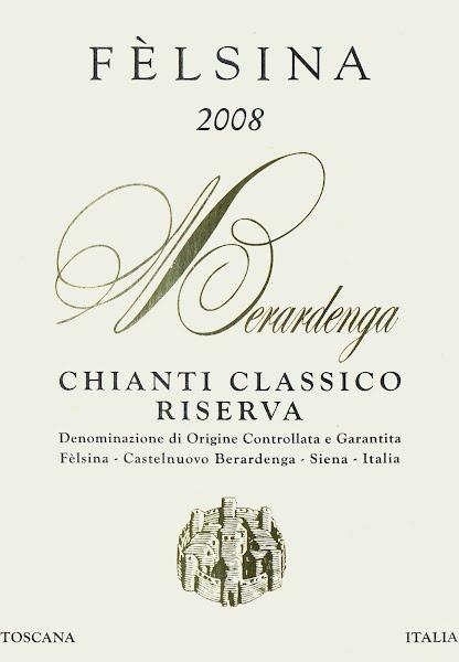 菲丝娜经典基昂蒂珍藏干红葡萄酒Felsina Berardenga Chianti Classico Riserva