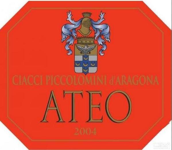 奇雅无神论干红Ciacci Piccolomini d'Aragona  Ateo