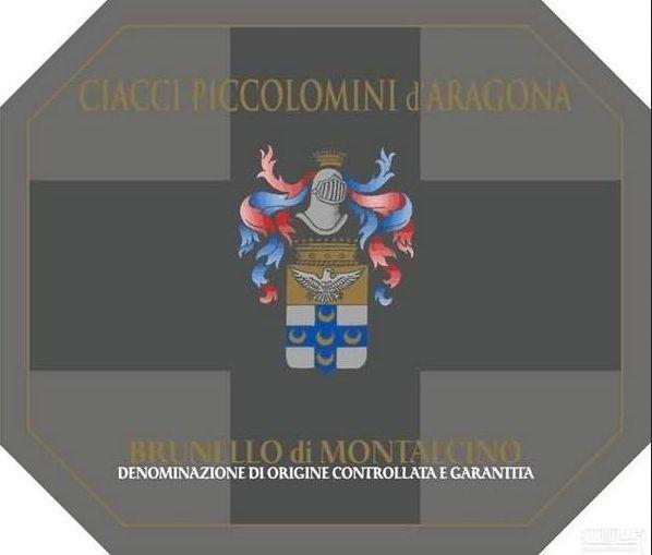 奇雅蒙塔希诺布鲁奈罗干红Ciacci Piccolomini d'Aragona Brunello di Montalcino