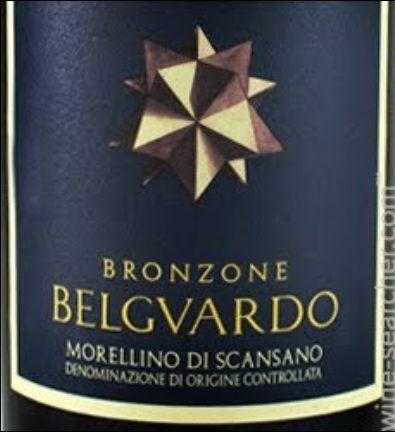 马泽世家泊瓜多金色地带干红Marchesi Mazzei Belguardo Bronzone Morellino di Scansano